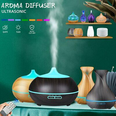 AU10.99 • Buy LED Ultrasonic Aroma Aromatherapy Diffuser Air Humidifier Purifier Essential Oil