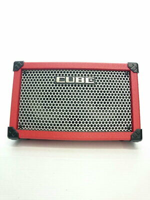 AU506.40 • Buy ROLAND CUBE Street RED Guitar Amp From Japan