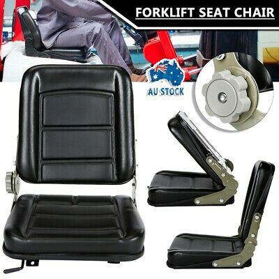 AU58.99 • Buy Forklift Seat Chair Tractor Excavator Forklift Truck Bobcat Leather Machinery AU