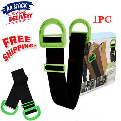 AU28.39 • Buy AU Adjustable Moving And Lifting Straps Carrying For Furniture Boxes Mattress