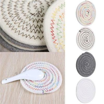 AU4.40 • Buy Washable Placemats Cup Coaster Place Mats Heat Resistant Dining Table Mats AS
