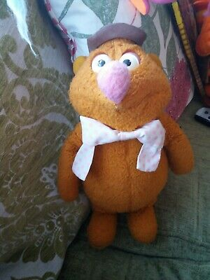 £18 • Buy Retro 1976 Fozzie Bear From The Muppet Show Doll Soft  Toy 15  By Fisher Price