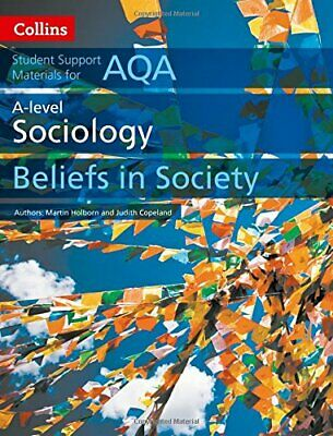 £8.86 • Buy AQA A Level Sociology Beliefs In Society (Collins Student Support Materials), Co