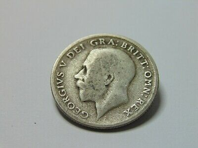 £1.25 • Buy 7100 - 1922 George V .500 Silver Sixpence