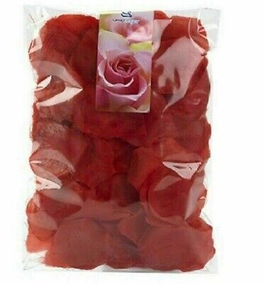 £3.30 • Buy Scented Silk Rose Petals Flower Table Decorations Confetti Engagement Party DIY