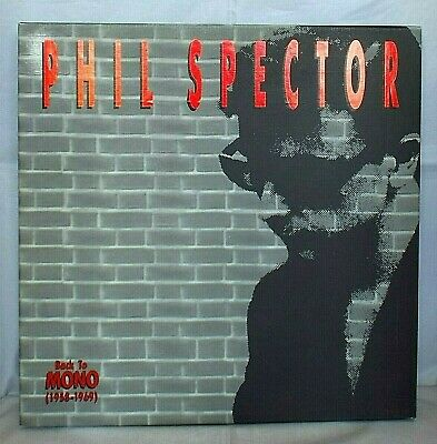 £22.99 • Buy PHIL SPECTOR Back To MONO (1958-1969) 4 CD Box Set With Booklet & Badge ABKCO