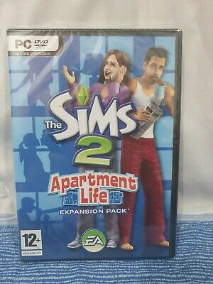 £44.99 • Buy Sims 2, Apartment Life PC DVD Computer Video Game UK Release  Rare New Sealed