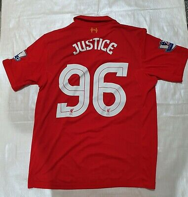 £24.99 • Buy Mens Liverpool FC Football Home Shirt 2012-13 Warrior 96 Justice  Size L