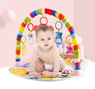£24.73 • Buy Baby Mat Gym Kick Puzzles And Play Piano Activity Infant Fitness Play Mat