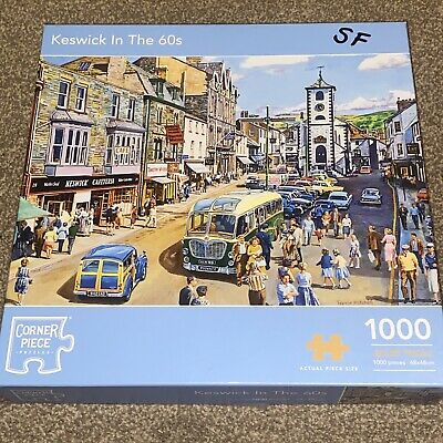 £7.50 • Buy Keswick In The 60's By Corner Piece 1000 Piece Excellent Condition.