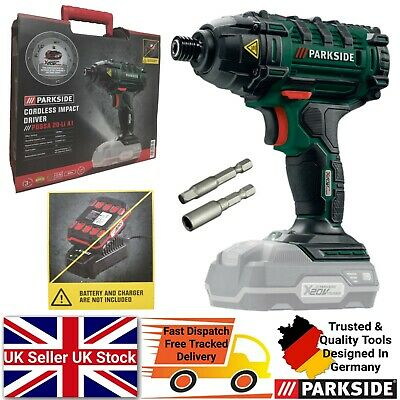 £44.99 • Buy Parkside 20V Cordless Impact Driver - Bare Unit Battery & Charger NOT Included