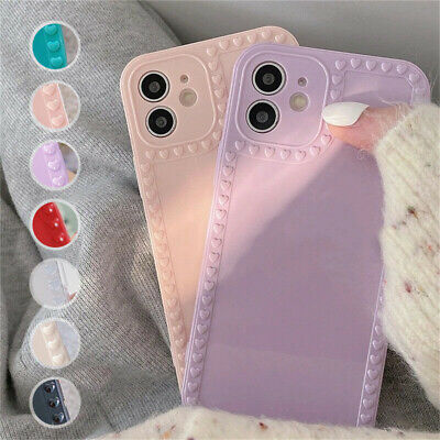 AU7.28 • Buy Case For IPhone 12 11 Pro Max XR XS 6s 7 8 Love Hearts Shockproof Silicone Cover