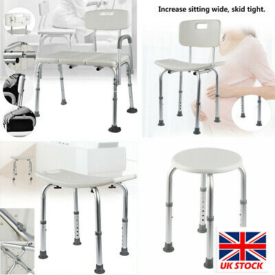 £47.99 • Buy Shower Seat Stool Bath Chair Elderly Pregnant Mobility Disability Aid Bench UK