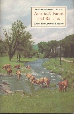 £12 • Buy America's Farms And Ranches (Know Your America Program) By John Fraser Hart