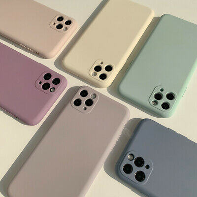 AU12.99 • Buy For IPhone 12/Pro/Max 11 XR SE XS MAX 8 7 Shockproof Liquid Silicone Case Cover
