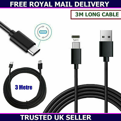 £3.95 • Buy New 3m Extra Long USB Charger Cable Data Sync Lead For IPad Pro 11  12.9  2021
