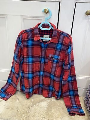 £9 • Buy Hollister Checked Shirt. Large.