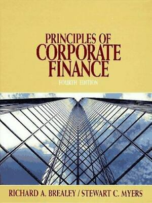 £8.69 • Buy Principles Of Corporate Finance By Stewart Myers, Richard Brealey Fourth Edition