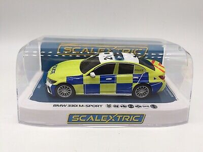 £42.99 • Buy SCALEXTRIC BMW 330i M-SPORT POLICE EDITION C4165 NEW In Box1:32
