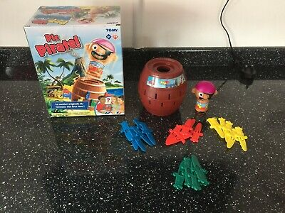 £9.99 • Buy TOMY Games T7028 TOMY Pop Up Pirate *MISSING 1 RED SWORD*