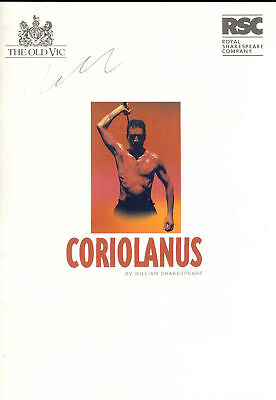 £3.75 • Buy Coriolanus & The Merry Wives Of Windsor THE OLD VIC RSC Theatre Programme Sig...