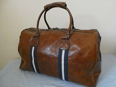 £10 • Buy Branded River Island Leather Look Carryall Holdall Travel Luggage