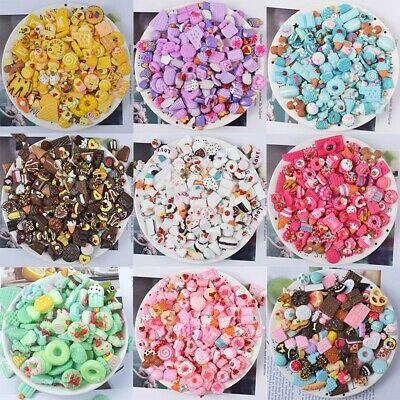 AU10.29 • Buy Chocolate Scrapbooking Supplies Crafts Nail Decoration Slime Charms Beads