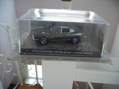 £8.99 • Buy The James Bond Car Collection Aston Martin Dbs. On Her Majesty's Secret Service.