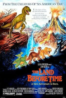 £1.99 • Buy The Land Before Time (DVD, 1988) REGION 2 EU Cover Plays In English