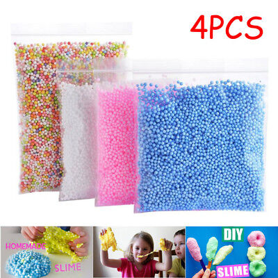AU12.88 • Buy 4PC Foam Balls 0.1-0.18 Inch (30000 Pcs)DIY Crafts Supplies For Homemade Slime