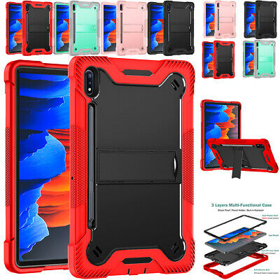 AU26.86 • Buy For Samsung Galaxy Tab S6 Lite / S7 2020 Tablet Shockproof Stand Hard Case Cover