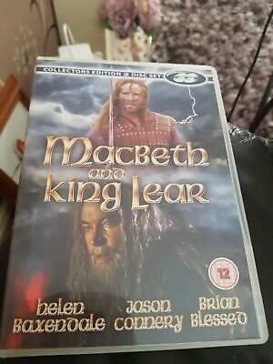 £3.49 • Buy MACBETH AND KING LEAR COLLECTOR'S EDITION 2 DISC SET DVD Jason Connery New UK R2