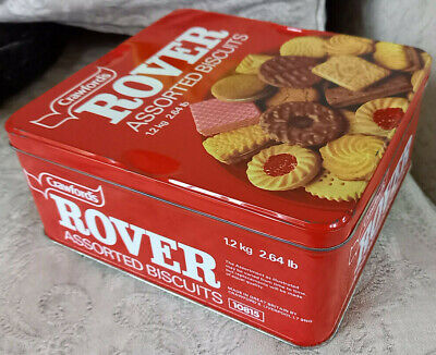 £15 • Buy Crawfords Rover Assorted Biscuit Tin 1.2kg  Vgc