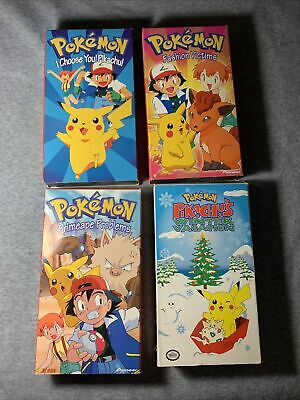 $25 • Buy Pokemon Vhs Tapes Including: I Choose You! Pikachu Excellent Condition