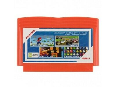 £9.14 • Buy Collection Of Games For The NES - 52 In 1 (NES/Dendy/Famicom) - KD-6042