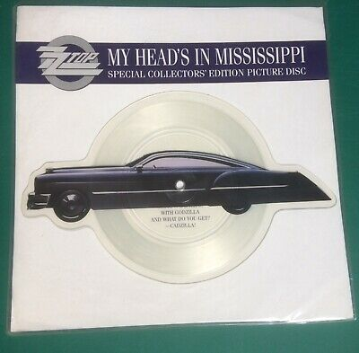 £9.50 • Buy ZZ TOP: My Heads In Mississippi 7  Shaped Picture Disc