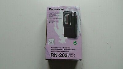 £49.99 • Buy Boxed Panasonic Rn-202 Microcassette Recorder Dictaphone Dictation Machine