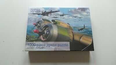 £9.99 • Buy Sealed Marks And Spencer War Plane 1000 Piece Jigsaw Puzzle