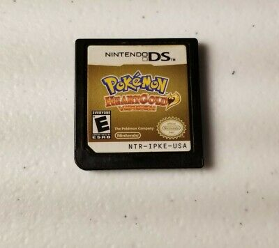 $115 • Buy Pokemon: HeartGold Version DS Game Only (DS, 2010) Authentic Tested