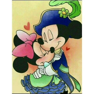 £7.99 • Buy  5D Diamond-Painting Full Drill Mickey Mouse Embroidery Art Cross Stitch Kits