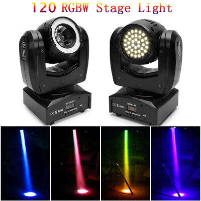 £69.99 • Buy 120W Double Sides Moving Head RGBW LED Beam Stage Lighting DMX DJ Party Disco UK