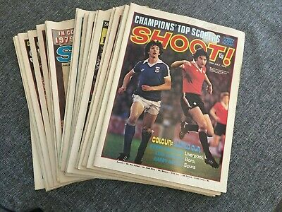 £3.50 • Buy Shoot Football Magazine 1978 & 1979 Multi Auction Choose Your Issue With Posters