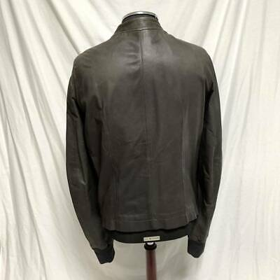 £388.46 • Buy Rick Owens Motorcycle Jacket Size M Lamb Leather Riders Brown Auth Japan