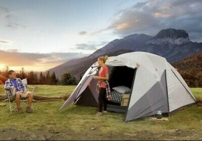 £115 • Buy Camp Valley Core 6 Person Blockout Dome Tent