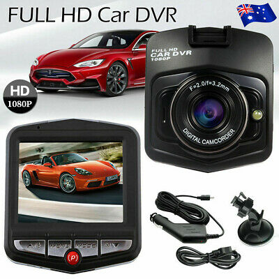 AU22.59 • Buy HD 1080P Car Dash Camera Recorder LCD Dual Lens DVR Front And Rear Reverse Cam