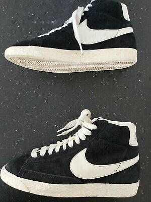 £19.99 • Buy Nike Blazers Womens White/Black Suede Trainers Size 5 .  EXCELLENT CONDITION
