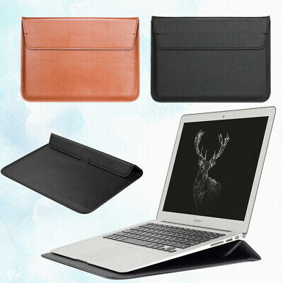 £7.46 • Buy PU Leather Stand Pouch Sleeve Bag Case For Apple IPad /MacBook Air Pro 13'' 15''