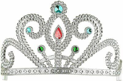 £5.99 • Buy Widmann Princess Tiara With 6 Coloured Gems For Fancy Dress Costume Party