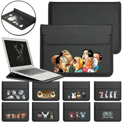 £10.99 • Buy UK Leather Laptop Sleeve Pouch Bag Case For Apple IPad Pro/Macbook Air 11/Pro 15