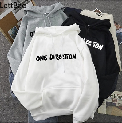 £19.74 • Buy New Letter Graphic One Direction Merch Harajuku Aesthetic Women Pullover Hoodie